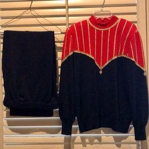 St . John Sweater & Pants